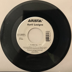 AVRIL LAVIGNE:I'M WITH YOU(RECORD SIDE-A)