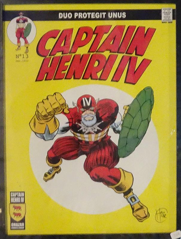 Captain Henri IV