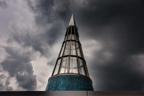 glasseyesview bundeskunsthalle bonn sky skyporn gewitterhimmel summervibes