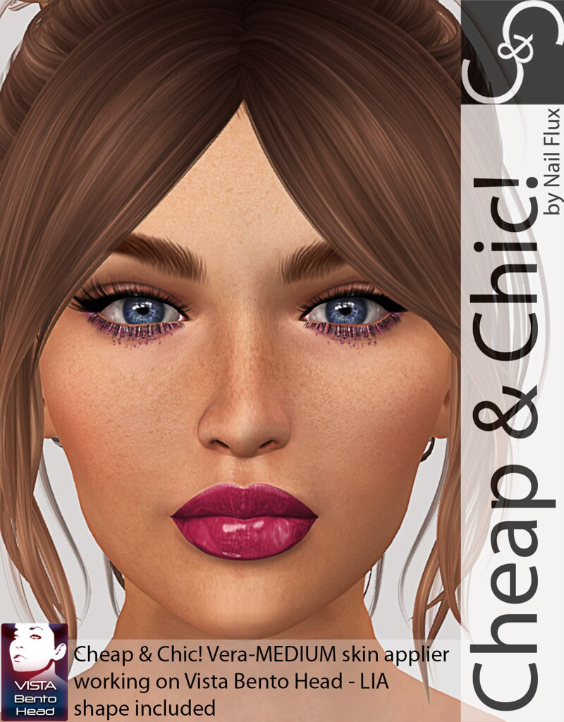 Cheap & Chic! Vera-Skin applier for VISTA LIA Bento Heads