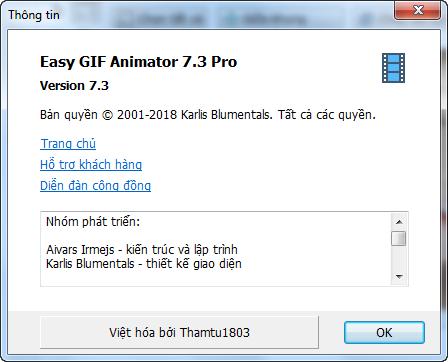 Việt hoá Easy GIF Animator 7.3 Pro – Phần mềm tạo ảnh động chuyên nghiệp 42852734355_9c752178b6_o