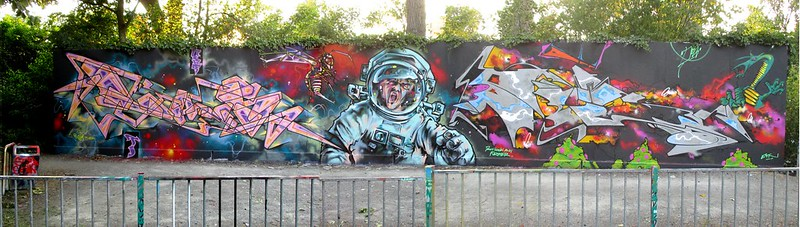 LANS n BES - Attack on the astronaut(Dont fly too high) Rotterdam- 2018