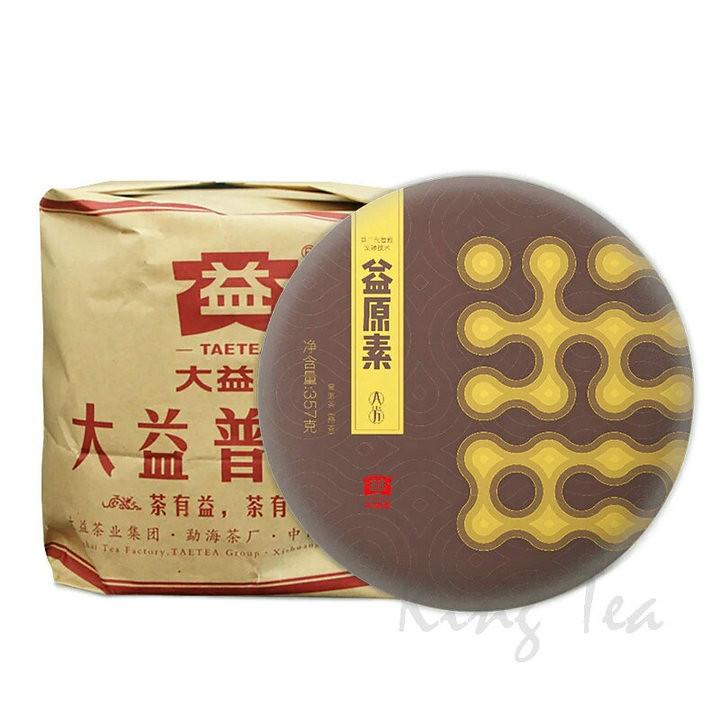 2018 DaYi YiYuanSu Cake 357g Puerh Ripe Tea Shou Cha