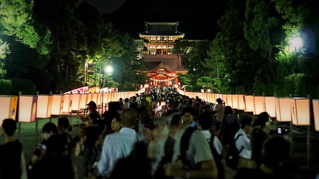 鎌倉ぼんぼり祭り'18-14