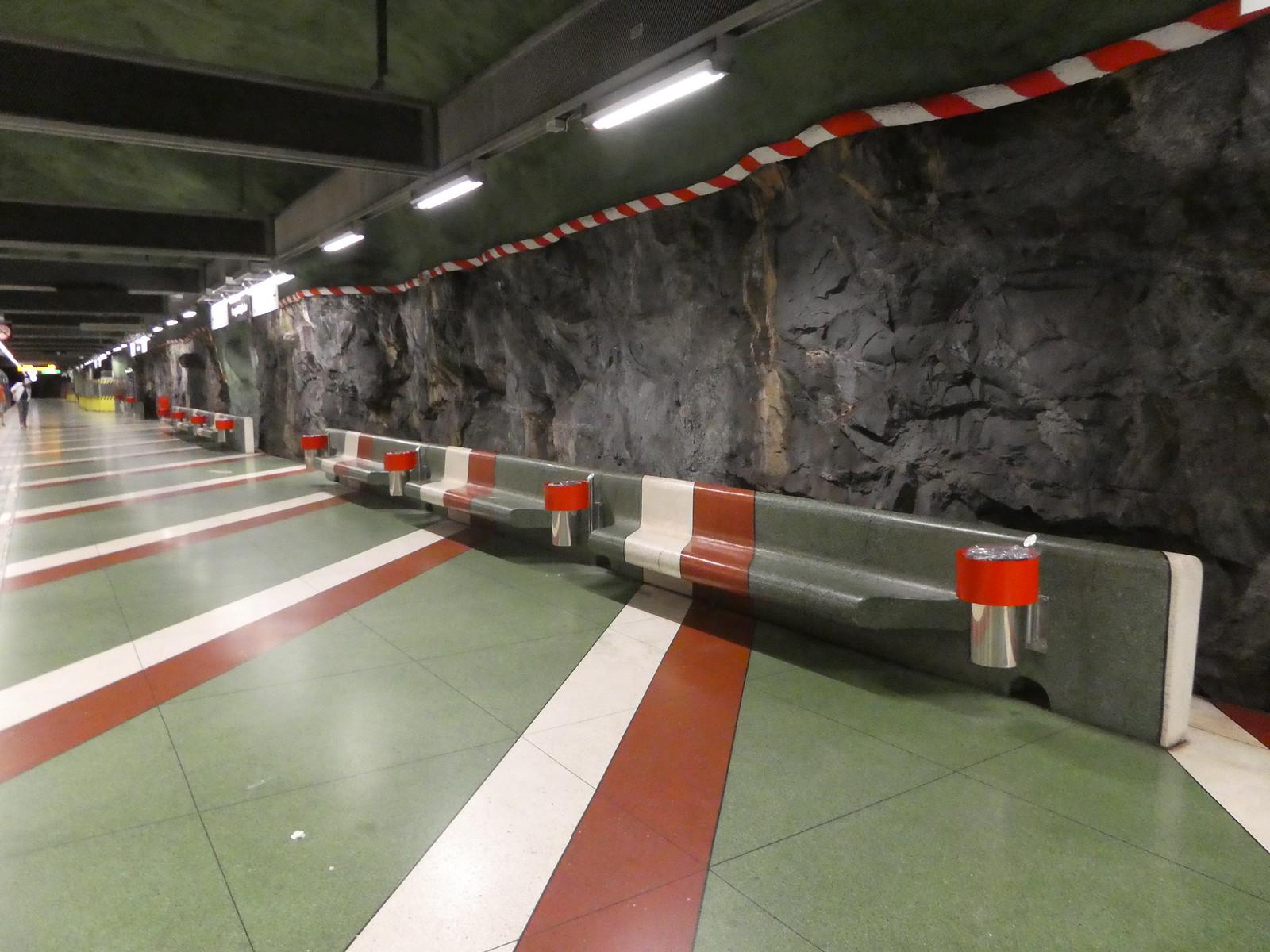Kungsträdgården Metro Station, Stockholm