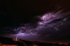 L'orage de la nuit à Auxerre - Photo of Gy-l'Évêque