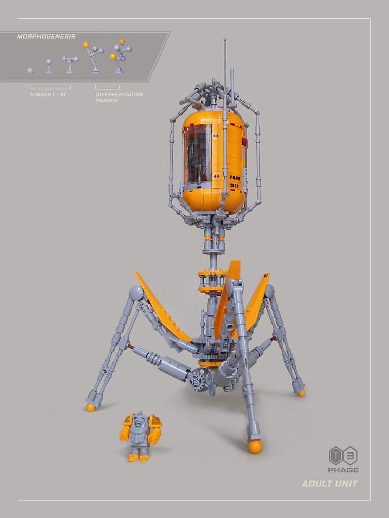 Invader T3 Phage