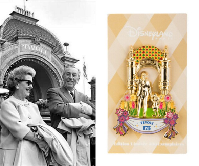 Pin's 175 ans des Tivoli Gardens