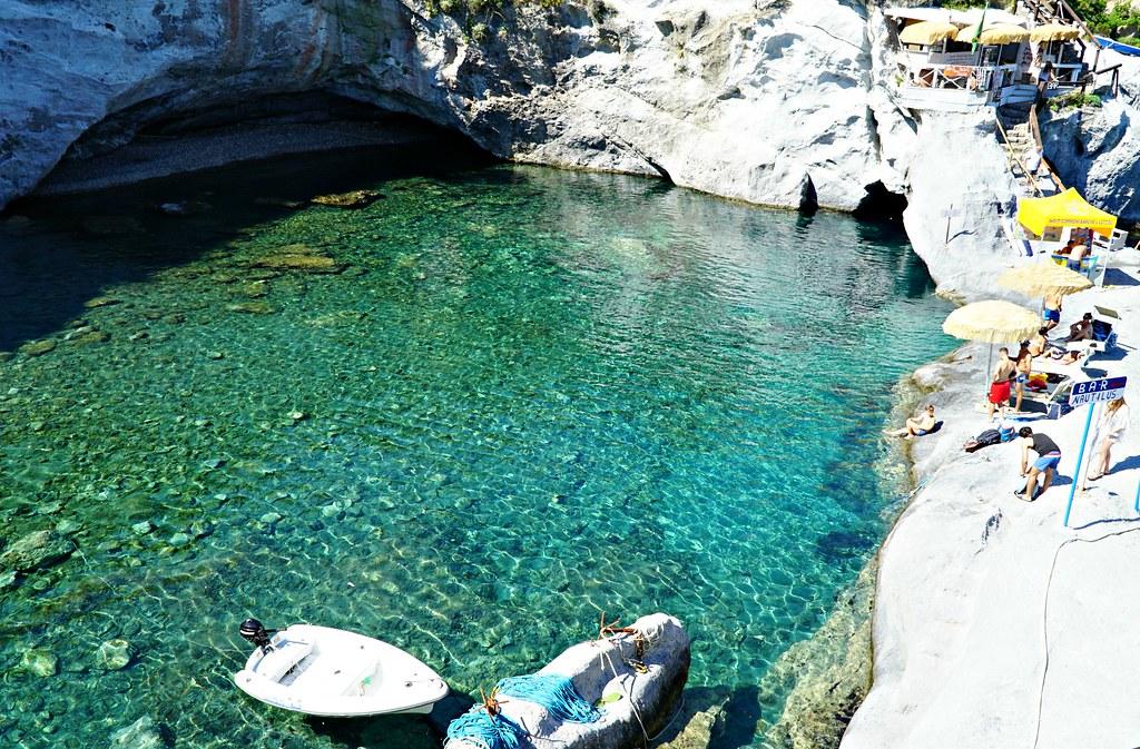 Ponza Piscine Naturali eli luonnon oma uima-allas