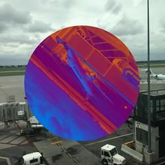 What the big bird Ottawainternationairport airport shape shapes circle