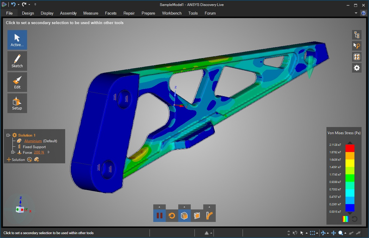 Simulation with ANSYS Discovery Enterprise 19.1.1 Win64 full