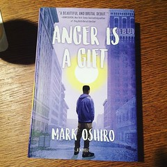I finally got off my ass and ordered @markdoesstuff book, Anger Is A Gift! Can't wait to read it. #bookstagram #booklove #angerisagift #markoshiro #bookaholic #bookaddict