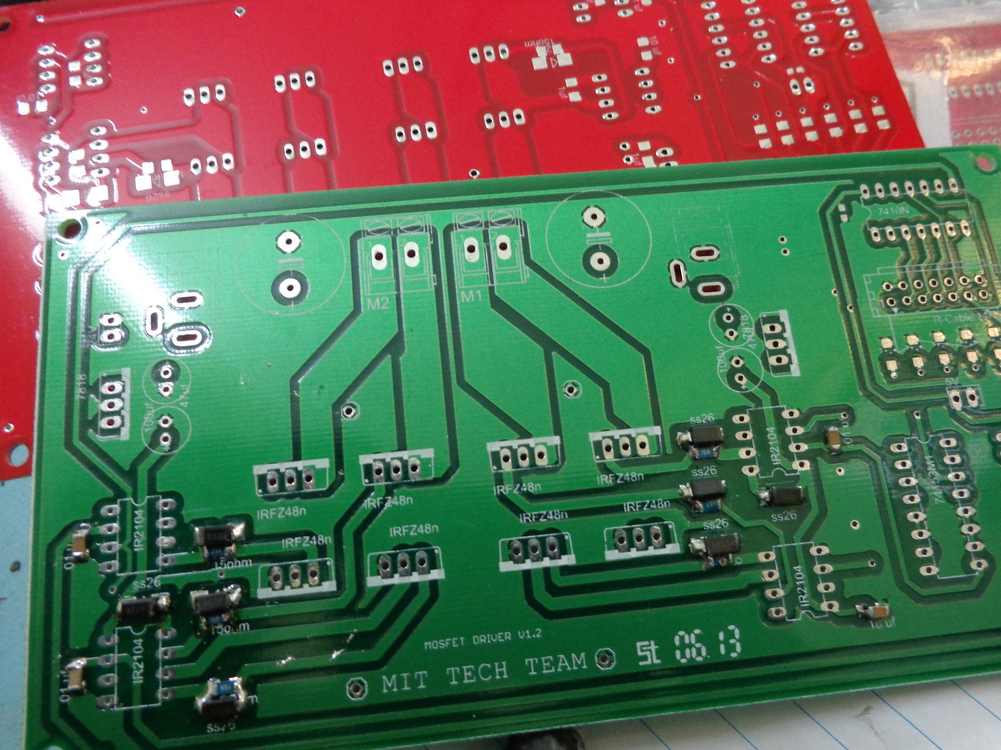 Brand new PCBs