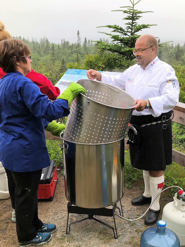 The Kilted Chef - Nova Scotia Seafood Boil
