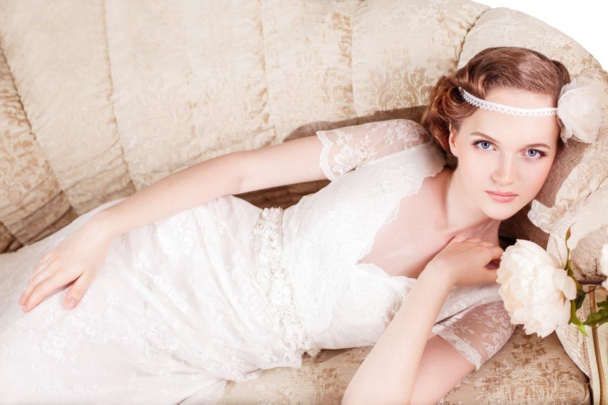 2018 Vintage Wedding Upstyles For Amazing Bridal! 1