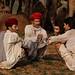 Conversation. Pushkar Mela. Rajasthan