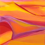 2015; Virginia Maitland; Solar Chaos; Acrylic on canvas; 60x54; Photo by Wes Magyar - Virginia Maitland: 1965-Present at the Arvada Center