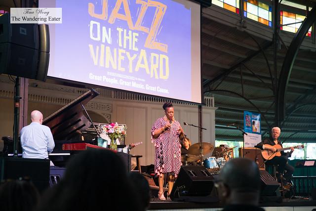 Grammy award winner Dianne Reeves performing