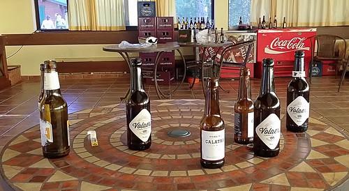 Volaera & Calatrava beer.