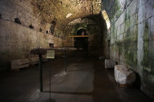 Spalato: sotterranei palazzo di Diocleziano