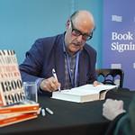 David Cannadine book signing - RM | © Robin Mair