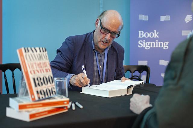 David Cannadine book signing - RM