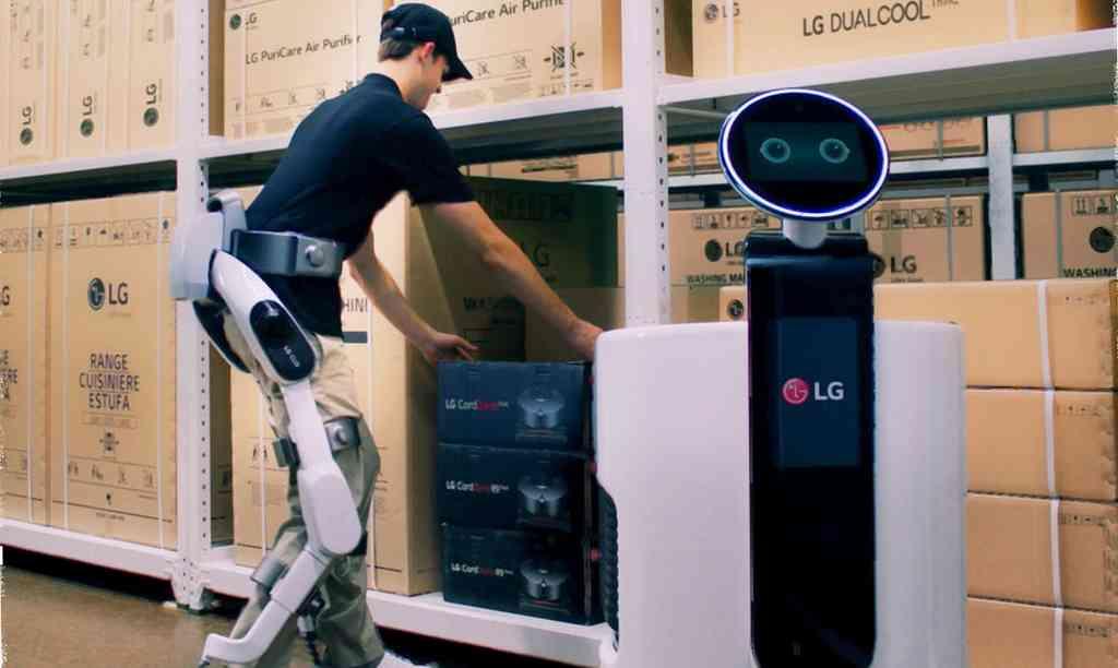 SuitBot : LG présente son exosquelette doté d'IA