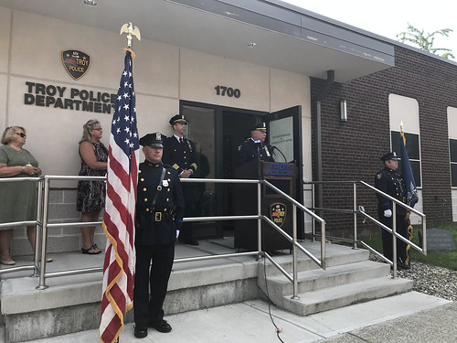 Captain Rick Sprague Retirement Ceremony 07-30-2018
