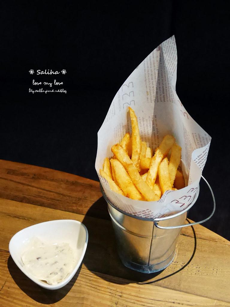 台北松山小巨蛋站quote333餐廳假日早午餐松露薯條吃到飽 (3)