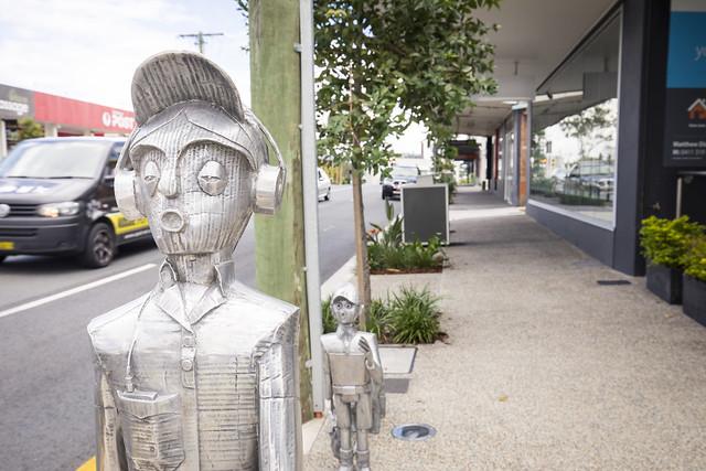 Public art in Village Precinct Projects