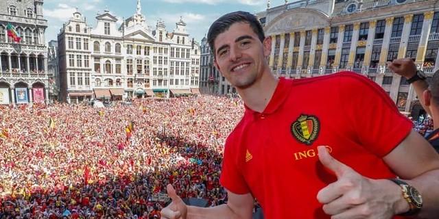 Thibaut Courtois: Ayo Ke Real Madrid Juga,Eden Hazard?