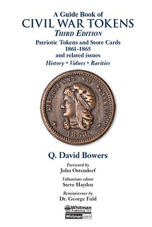 Guide Book of Civil WarTOkens 3rd Ed title page