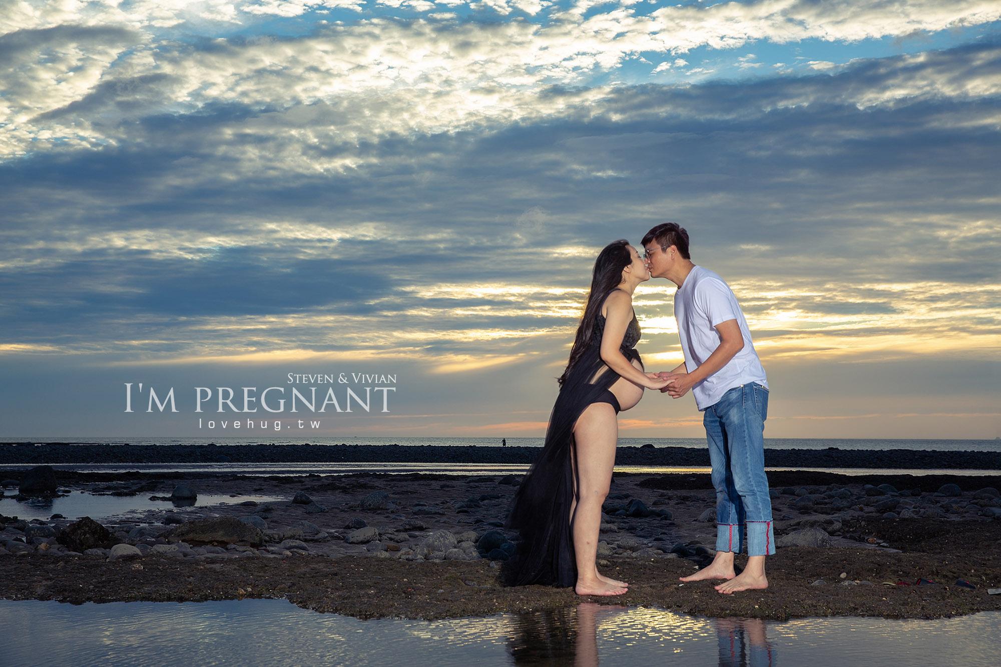 台北孕婦寫真,孕媽咪,北海岸