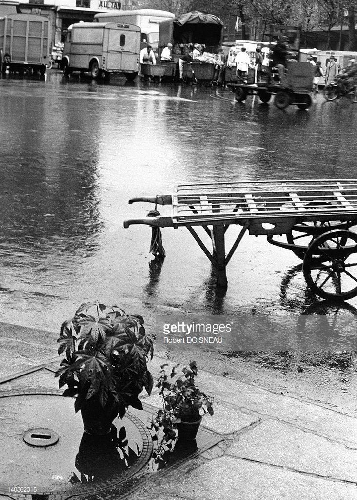 1967. Дождливый день в Ле-Аль