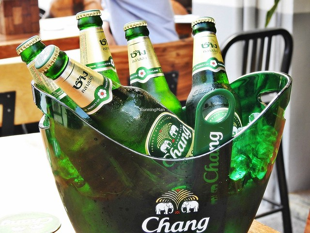 Bucket Of Chang Beer