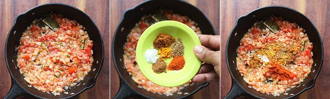 How to make paneer bhurji gravy recipe - Step4