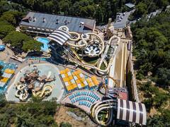 Aquapark Atlantis. Yalta. Crimea.