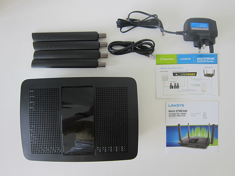 Linksys EA8100 - Box Contents
