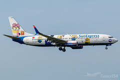 SunExpress | Boeing 737-8HC | TC-SOH Despicable Me 3 | BUD/LHBP