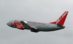 G-CELE JET2 BOEING 737 NEWCASTLE AIRPORT
