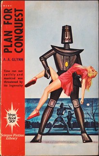 Vega Book Science Fiction Library, VSF-5. (1963). Cover Art by H. Fox