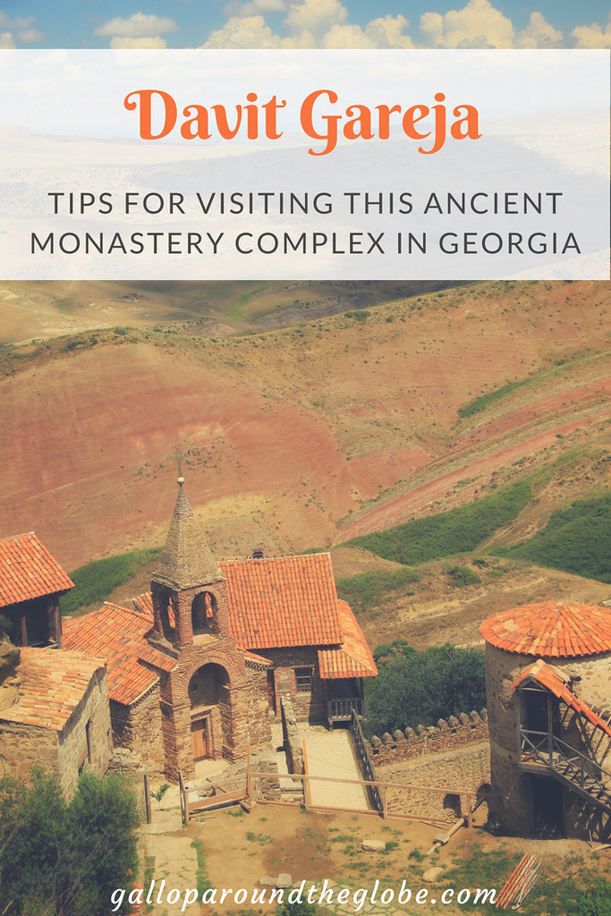 Visiting Davit Gareja, an ancient monastery complex in Georgia | Gallop Around The Globe