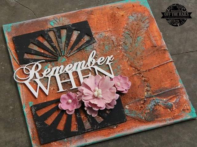 """Remember When"" Mixed Media Canvas"