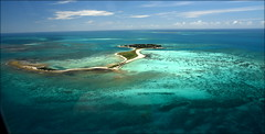Approaching Fort Jefferson on Garden Key, One Of The Dry Tortugas