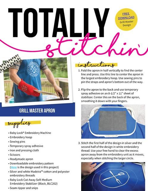 Totally Stitchin Grill Master 2