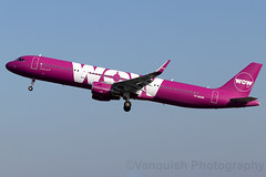 TF-MOM WOW Air Iceland A321-200 London Stansted Airport