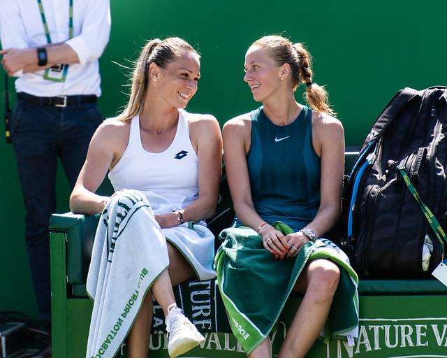 Petra Kvitova & Magda Rybarikova