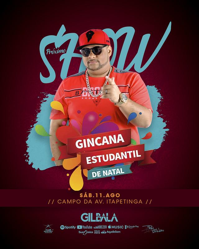 Gil Bala - Agosto - Semana 02