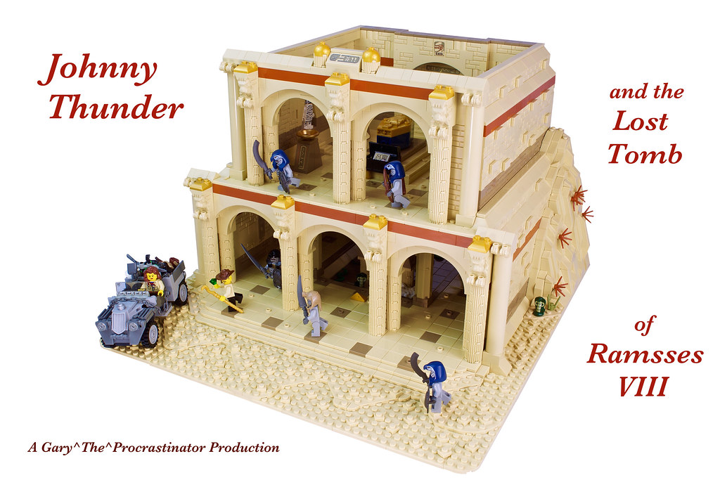 Johnny Thunder and the Lost Tomb of Ramesses VIII