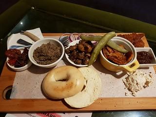Vegan Breakfast Board at Fitz & Potts